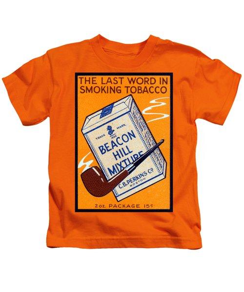 1910 Beacon Hill Pipe Tobacco Kids T-Shirt