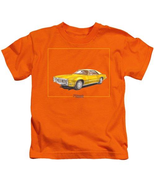 1970 Olds Toronado Terific Tee Shirt Kids T-Shirt