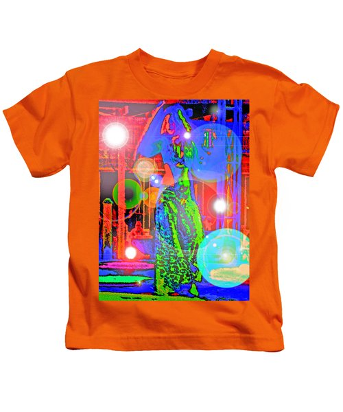 Belly Dance Kids T-Shirt by Andy Za