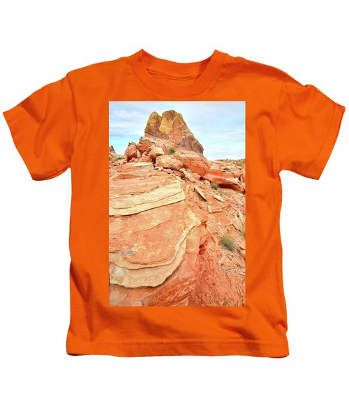 Valley Of Fire High Country Kids T-Shirt