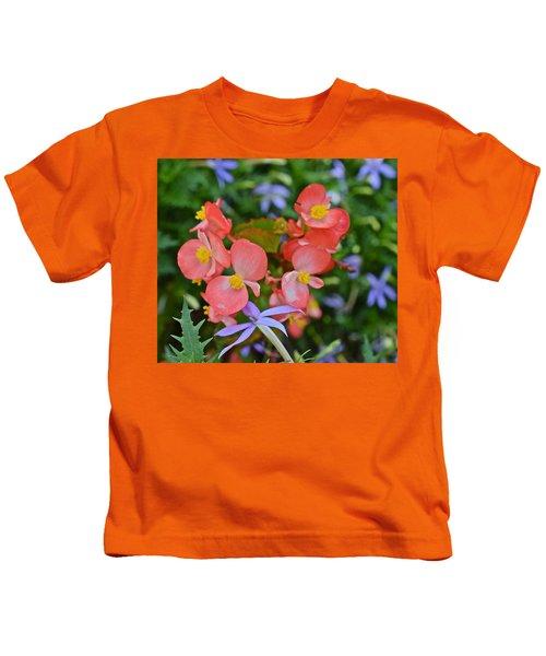 2015 Mid September At The Garden Begonias 2 Kids T-Shirt