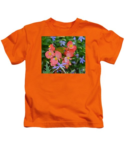 2015 Mid September At The Garden Begonias 2 Kids T-Shirt