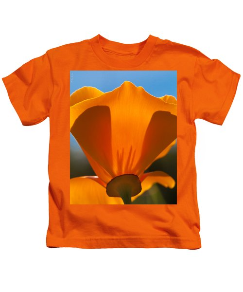 Californian Poppies Kids T-Shirt