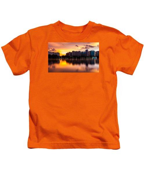 Downtown Orlando Kids T-Shirt