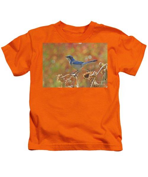 Western Scrub-jay Kids T-Shirt