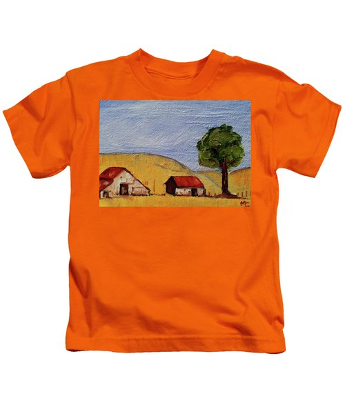 A Farm In California Winecountry Kids T-Shirt