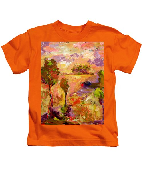 A Joyous Landscape Kids T-Shirt
