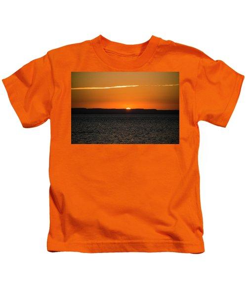 A La Paz Sunset Kids T-Shirt