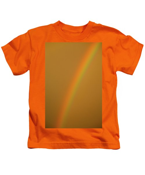 A Sunset Rainbow Kids T-Shirt