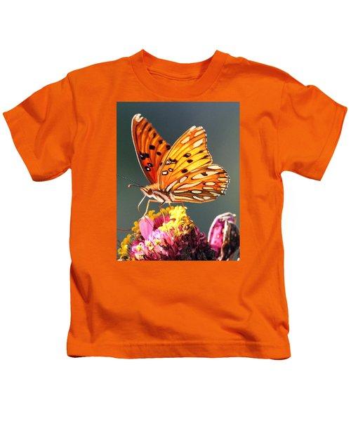 A Troubled Zinnia Kids T-Shirt