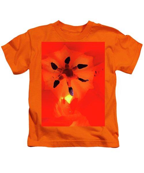 A Tulip's Secret Life Kids T-Shirt