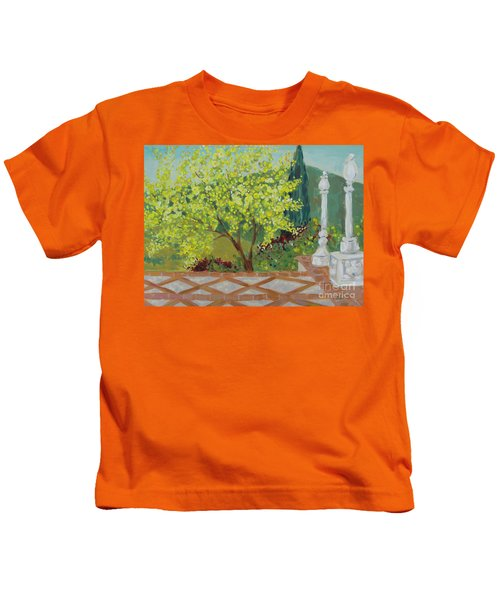 A View From Hearst Castle Kids T-Shirt