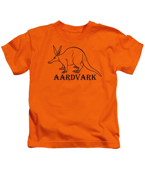 Aardvark Kids T-Shirt by Sarah Greenwell