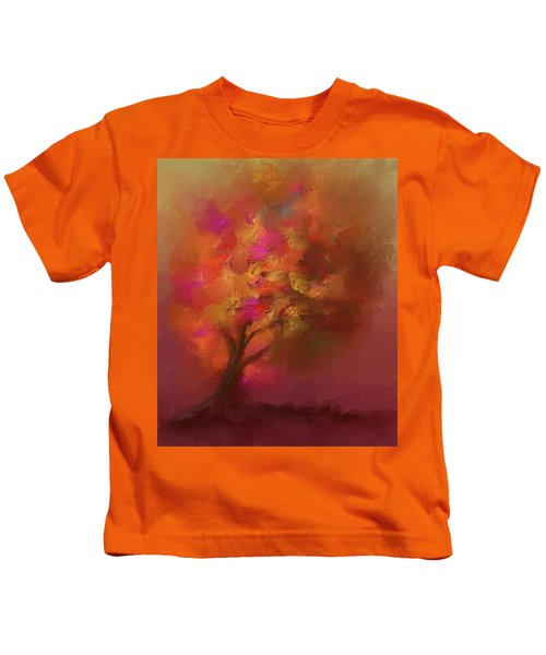 Abstract Colourful Tree Kids T-Shirt