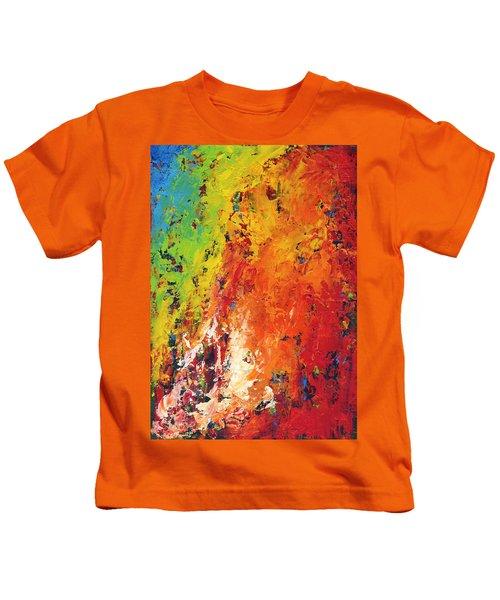 Abstract Land Kids T-Shirt