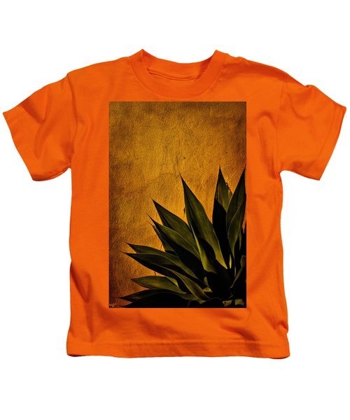 Adobe And Agave At Sundown Kids T-Shirt