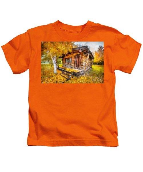 Alaskan Autumn Kids T-Shirt