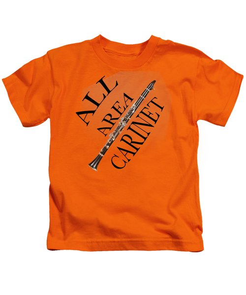 All Area Clarinet Kids T-Shirt