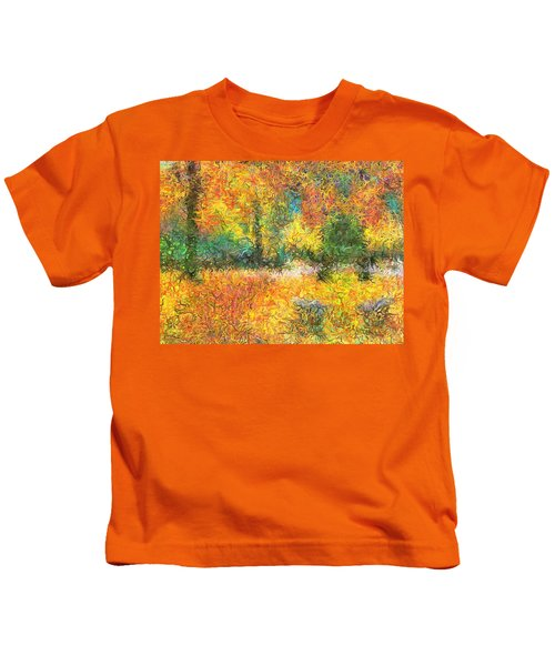 An Autumn In The Park Kids T-Shirt