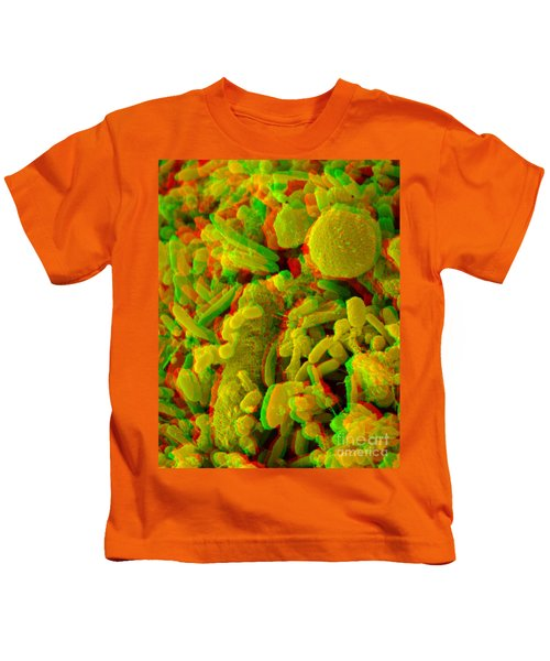 Anaglyph Of Human Feces Kids T-Shirt