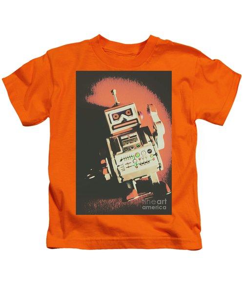 Android Short Circuit  Kids T-Shirt