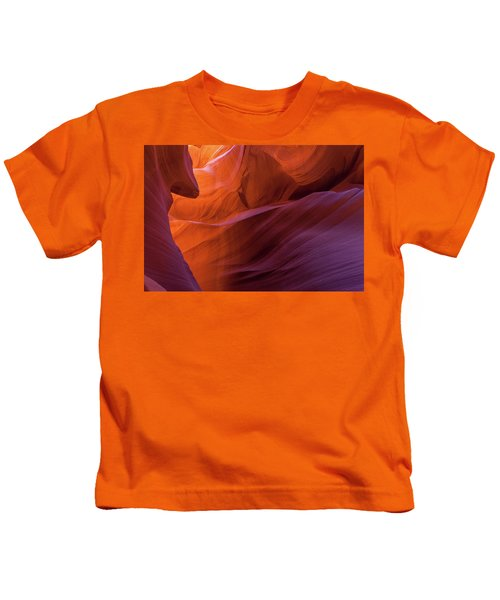 Antelope Canyon Fire Kids T-Shirt
