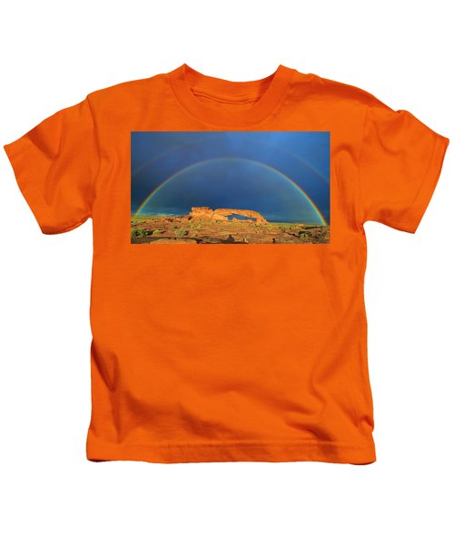 Arching Over Kids T-Shirt