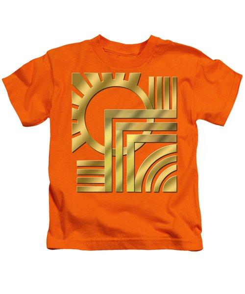 Art Deco 21 Transparent Kids T-Shirt