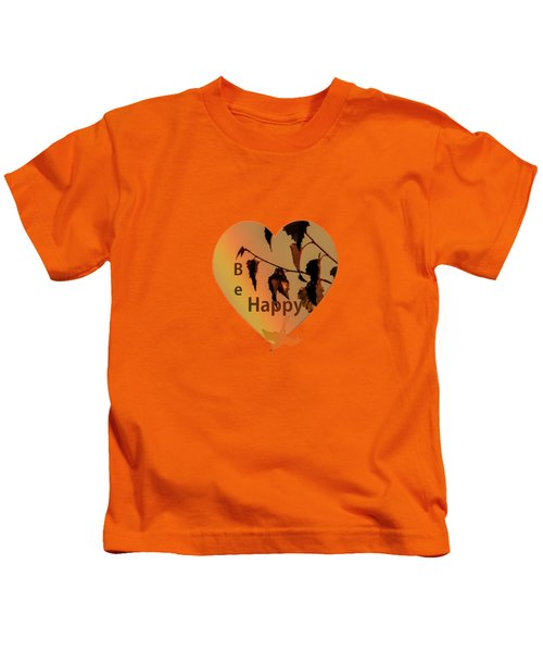 Rainbow And Copper Kids T-Shirt