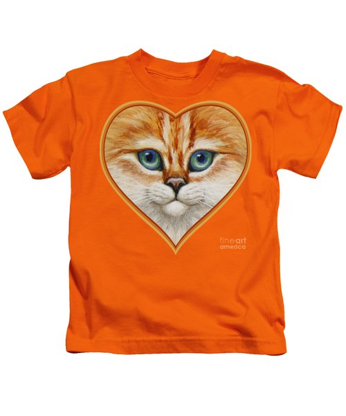 Happy Kitty Kids T-Shirt