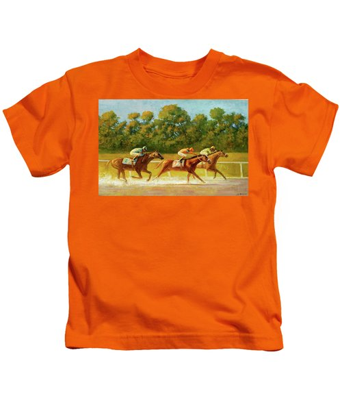 At The Finish Line Kids T-Shirt