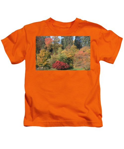 Autumn In Baden Baden Kids T-Shirt