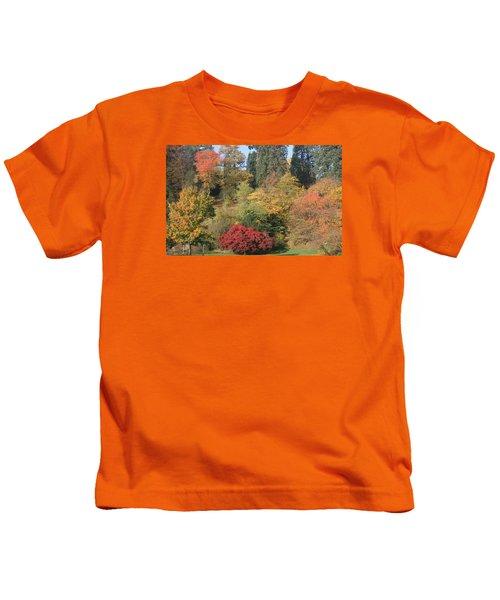 Autumn In Baden Baden Kids T-Shirt