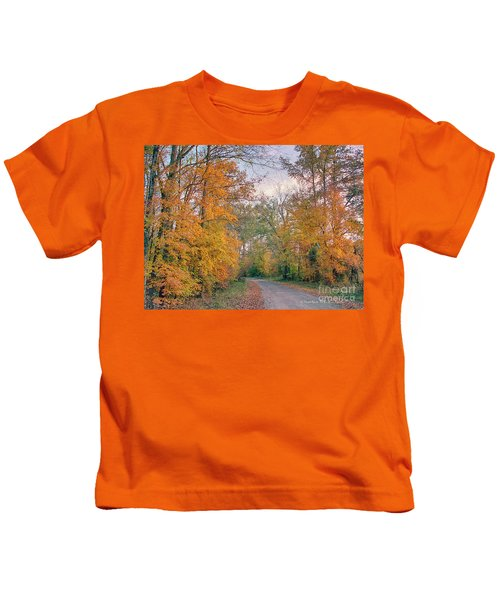 Autumn In East Texas Kids T-Shirt