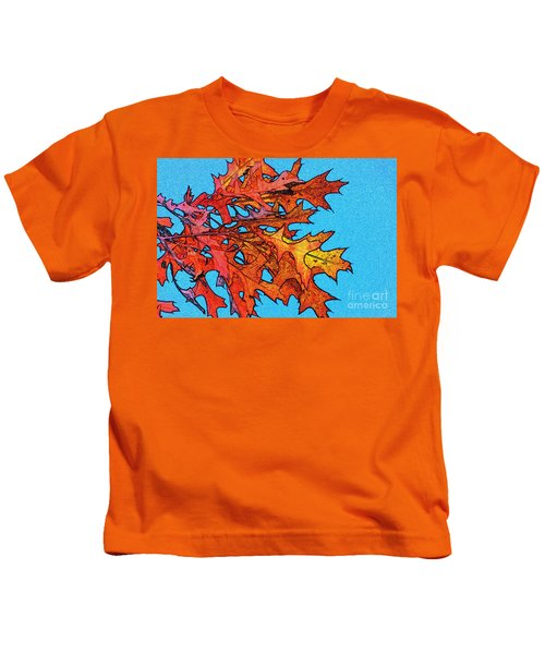 Autumn Leaves 14 Kids T-Shirt