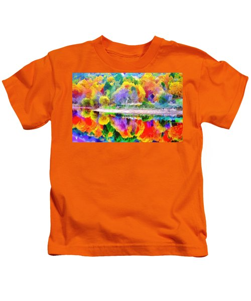 Autumn Panorama Kids T-Shirt