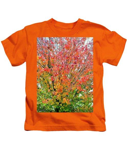 Autumn Splendor Kids T-Shirt
