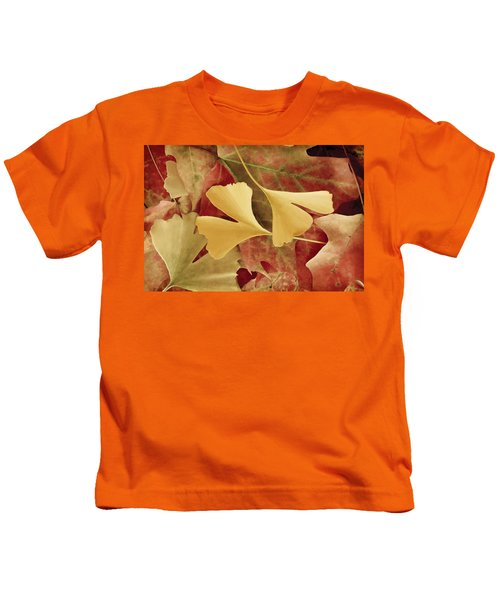 Autumn Yellow Kids T-Shirt