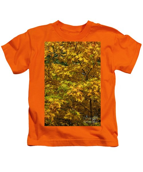 Autumnal Leaves And Trees 2 Kids T-Shirt