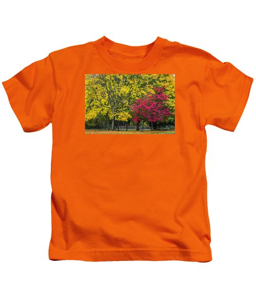 Autumn's Peak Kids T-Shirt