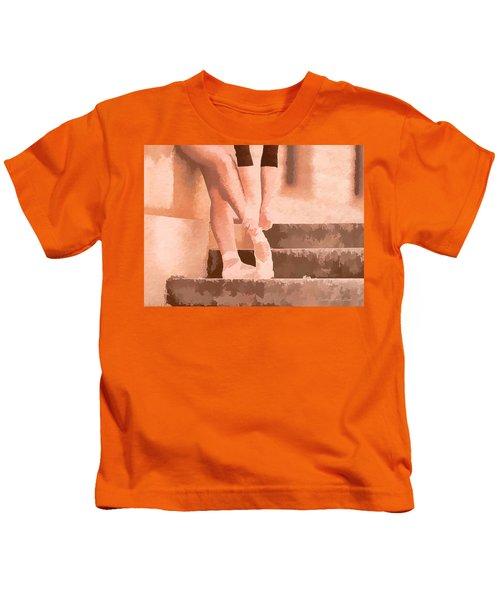 Ballet Shoes Kids T-Shirt