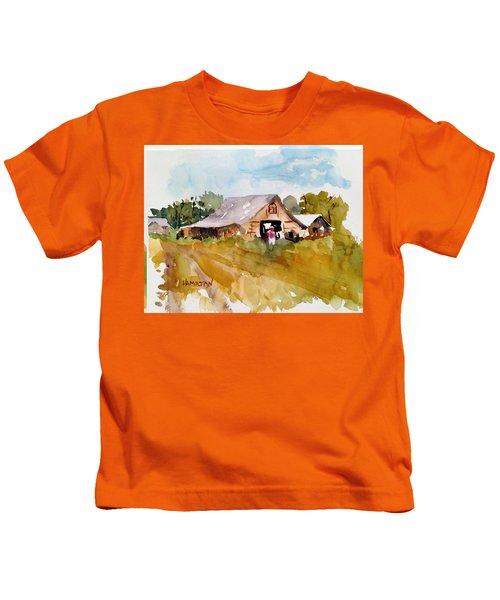 Barn # 2 Kids T-Shirt
