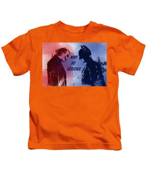 Batman And Joker Kids T-Shirt