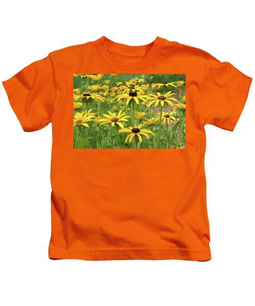 Beautiful Black Eyes Kids T-Shirt
