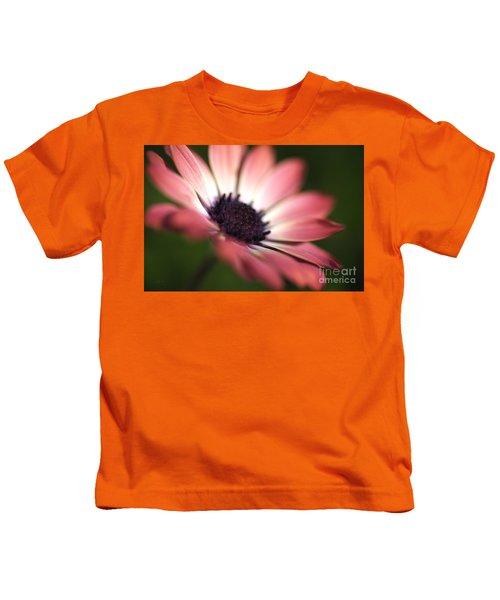 Beautiful Rich African Daisy Zion Red Flower Kids T-Shirt