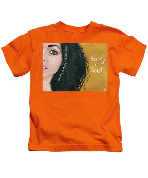 Beauty Is Soul Kids T-Shirt