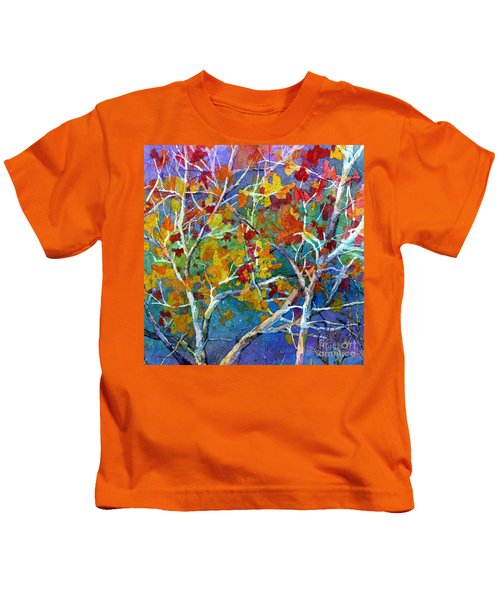 Beyond The Woods - Orange Kids T-Shirt
