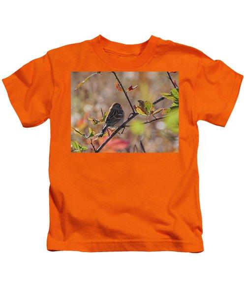 Bird In  Tree Kids T-Shirt