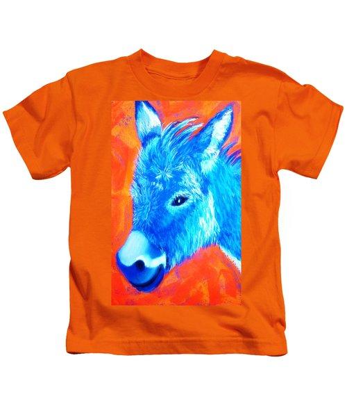 Blue Burrito Kids T-Shirt