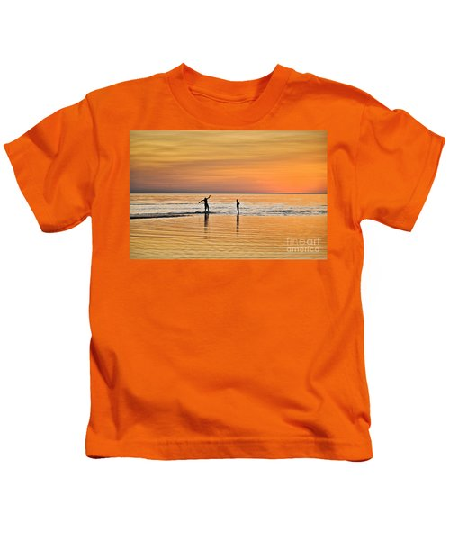 Boogie Boarding Kids T-Shirt